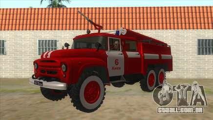 131Н ZIL AC-40 Incêndio para GTA San Andreas