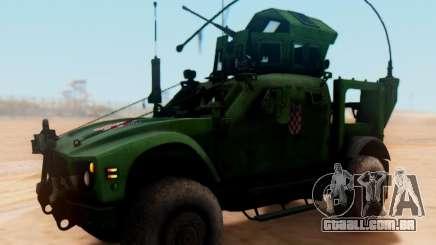Oshkosh M-ATV croata Veículo Blindado de Textura para GTA San Andreas