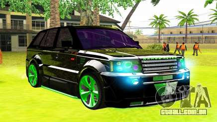 Land Rover Range Rover Sports Light Tuning para GTA San Andreas