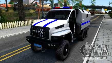 Ural PRÓXIMA Polícia para GTA San Andreas