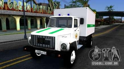 GAZ-3309 da penitenciária Federal de serviço da Rússia para GTA San Andreas