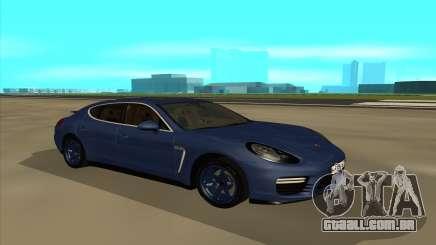 Porshe Panamera GTS para GTA San Andreas
