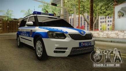 Skoda Yeti Sérvio, A Polícia De Fronteira para GTA San Andreas