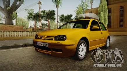 Volkswagen Golf Mk4 Stock para GTA San Andreas