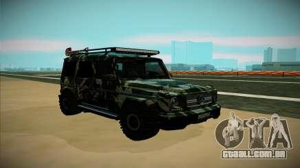 Mercedes-Benz G para GTA San Andreas