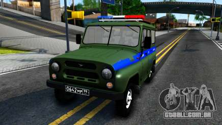 UAZ-31512 Militar, Auto de Inspeção para GTA San Andreas