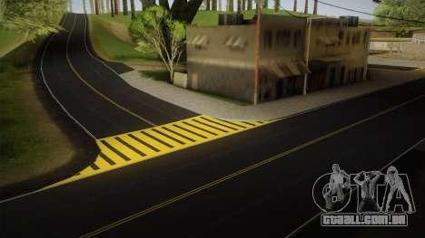 8K Country Road Textures para GTA San Andreas