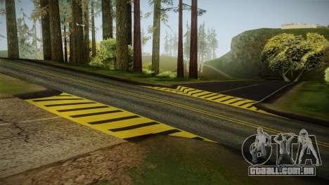 8K Country Road Textures para GTA San Andreas segunda tela