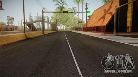 4K Surrounding Textures para GTA San Andreas por diante tela