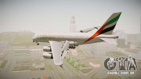 Airbus A380 Emirates Expo 2020 Dubai para GTA San Andreas