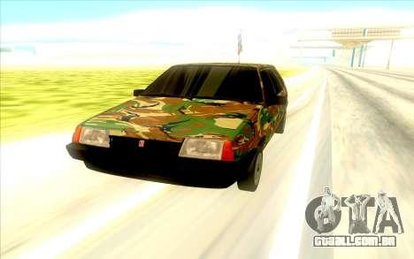 2109 para GTA San Andreas vista direita