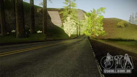 8K Country Road Textures para GTA San Andreas terceira tela