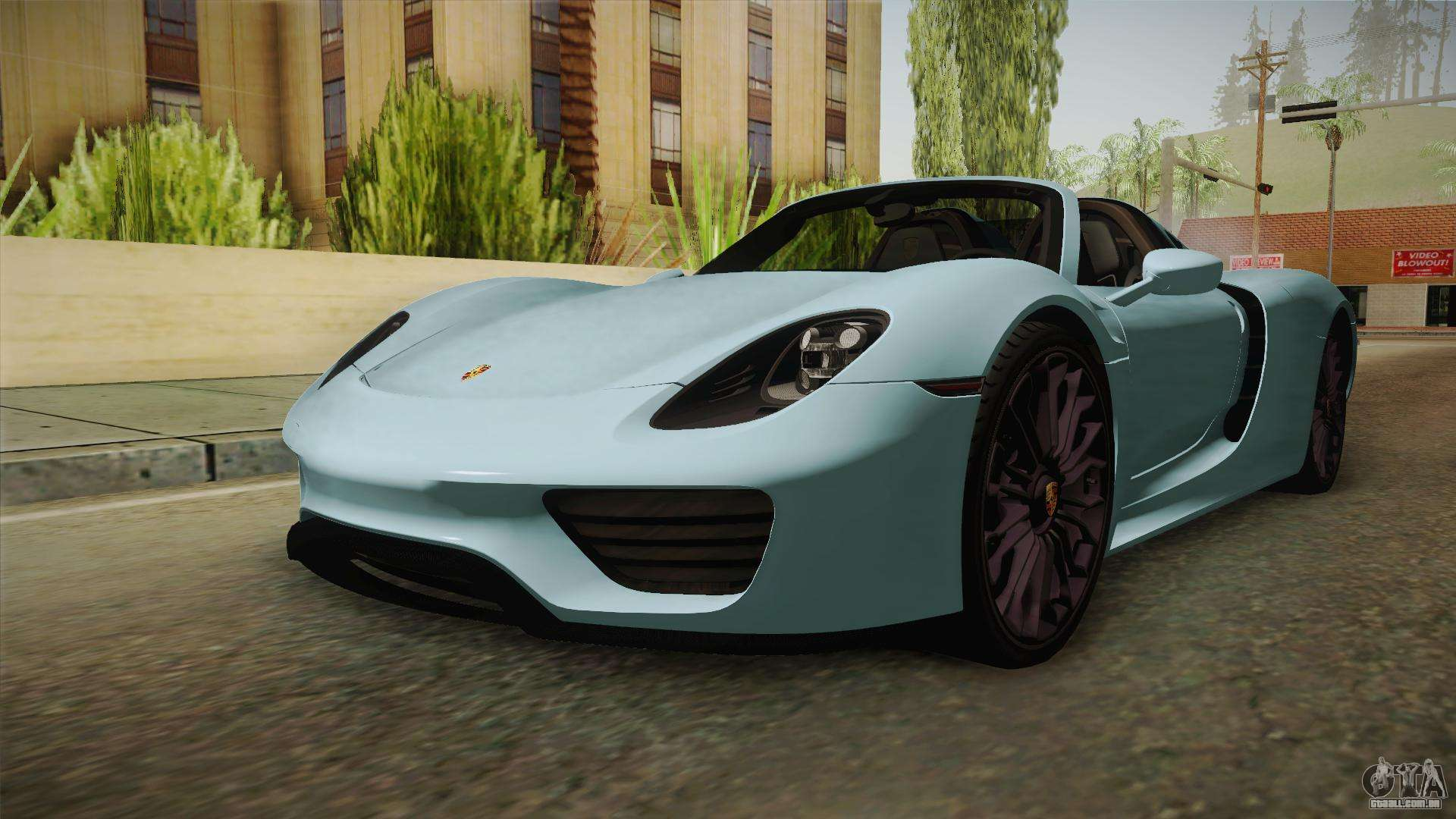 porsche 918 spyder para gta san andreas. Black Bedroom Furniture Sets. Home Design Ideas