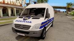 Mercedes-Benz Sprinter Croatian Police Van