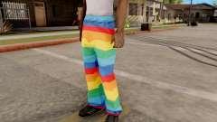 Iridescente calças para GTA San Andreas