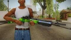 Green Rifle para GTA San Andreas