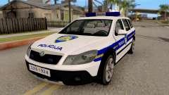 Skoda Octavia Scout Croatian Police Car