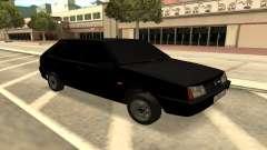 2109 preto para GTA San Andreas