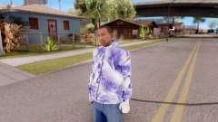 Moletom roxo para GTA San Andreas