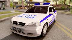 Opel Astra G Bulgarian Police