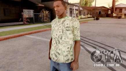 T-Shirt Dollar Style para GTA San Andreas
