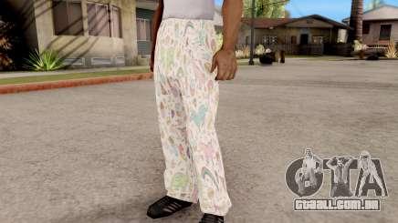 Calças do pijama para GTA San Andreas