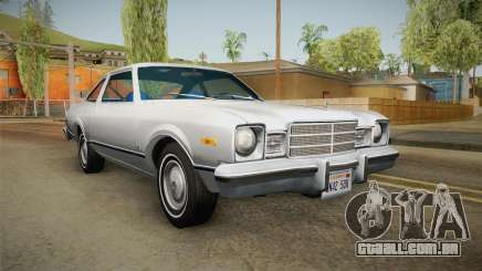 Plymouth Volare Coupe 1977 para GTA San Andreas