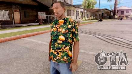 Natal t-shirt para GTA San Andreas