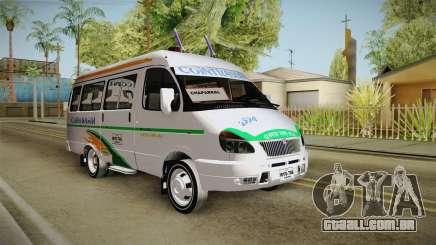 Gazela 3221 Cointrasur para GTA San Andreas