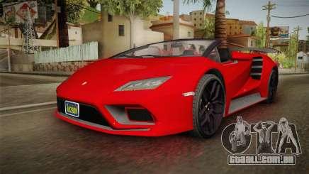 GTA 5 Pegassi Tempesta Spyder para GTA San Andreas