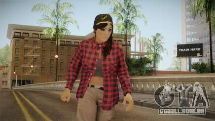 GTA 5 Vagos Chola Reskinned para GTA San Andreas
