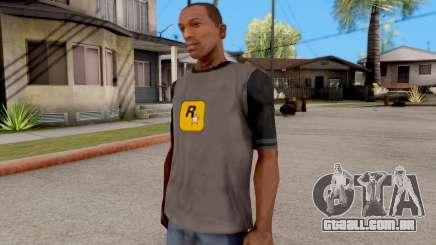Rockstar T-Shirt para GTA San Andreas