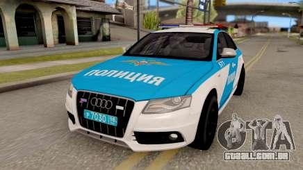 Audi S4 Russian Police para GTA San Andreas