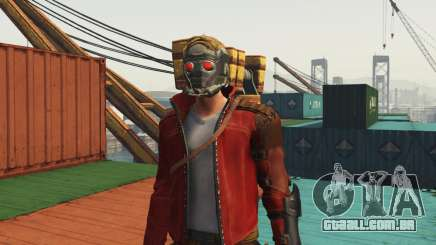 GOTG Star-lord para GTA 5