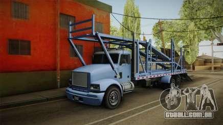 GTA 5 MTL Car Hauler SA Style para GTA San Andreas