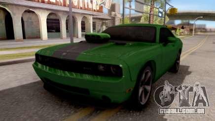 Dodge Challenger SRT-8 2010 Ben 10 Alien Swarm para GTA San Andreas