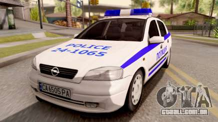 Opel Astra G Bulgarian Police para GTA San Andreas