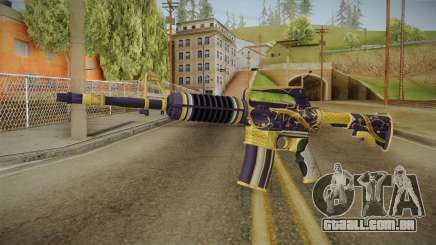 CS:GO - M4A1-S Gold Coil No Silencer para GTA San Andreas