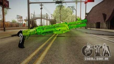 Green Weapon 3 para GTA San Andreas