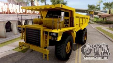 Realistic Dumper Truck para GTA San Andreas