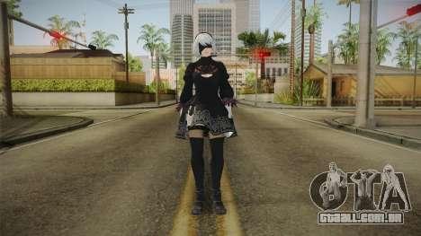 2B Nier Automata para GTA San Andreas
