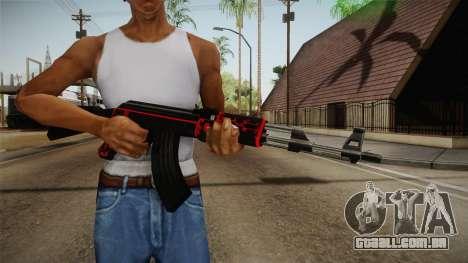 CF AK-47 v5 para GTA San Andreas