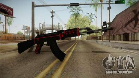 CF AK-47 v5 para GTA San Andreas segunda tela