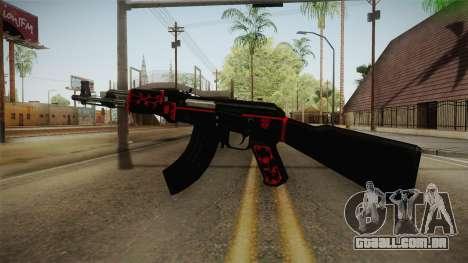 CF AK-47 v5 para GTA San Andreas terceira tela