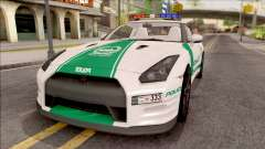 Nissan GT-R R35 Dubai High Speed Police para GTA San Andreas