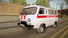 UAZ-452 Ambulância da cidade de Odessa