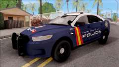 Ford Taurus Spanish Police