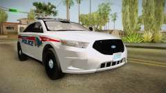 Ford Taurus 2014 YRP para GTA San Andreas