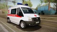 Ford Transit Ambulância da cidade de Kharkov para GTA San Andreas