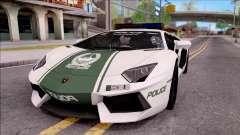 Lamborghini Aventador LP700-4 Dubai HS Police